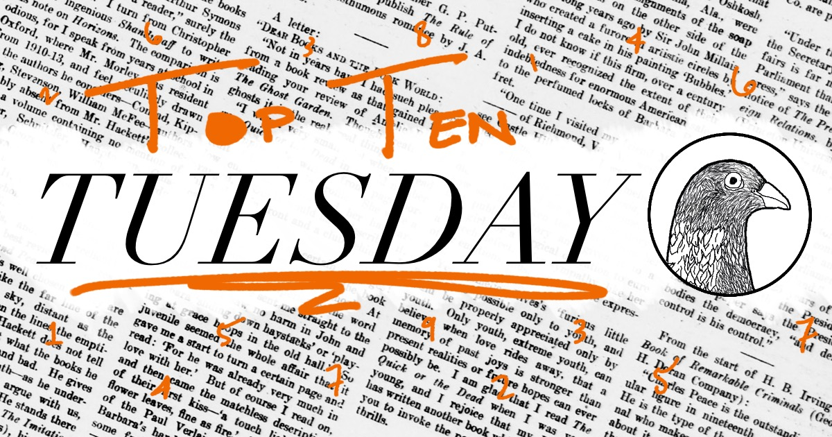 Top Ten Tuesday: Books I Wish I Could Read Again For the FirstTime